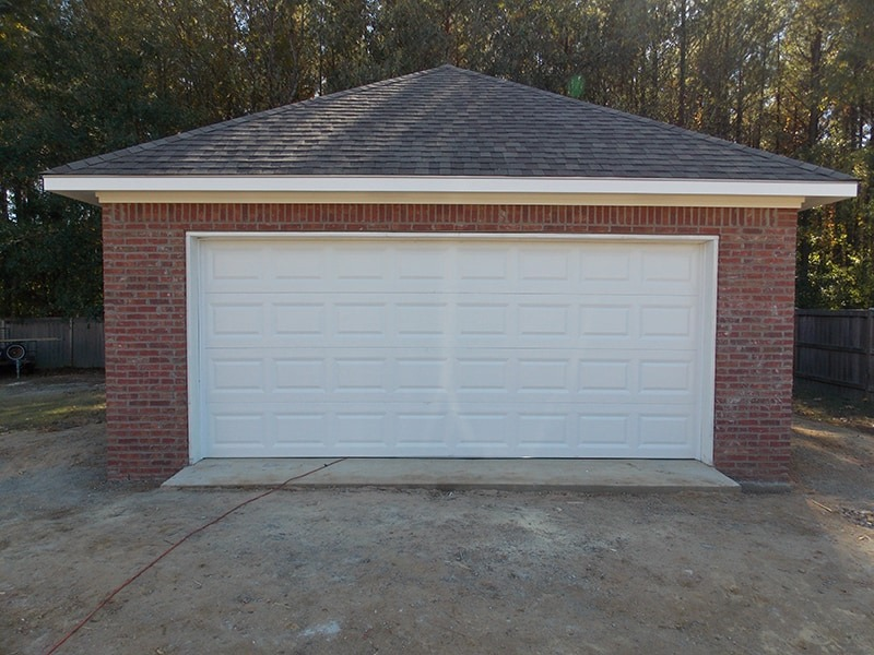 Garage completed